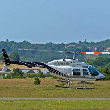 Aéroport de Castres-Mazamet, Tarn (81) - Baptême de l'air hélicoptère