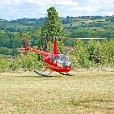 Stage initiation hélicoptère, département Loire Atlantique