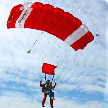 Saut en parachute, département Tarn