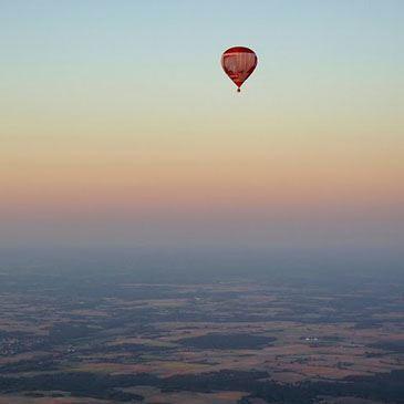 Vol en montgolfière (Rethel)