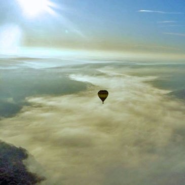 Baptême de l'air montgolfière proche Rethel