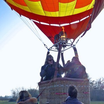 Meursault, à 30 min de Chalon-sur-Saône, Saône et loire (71) - Baptême de l'air montgolfière