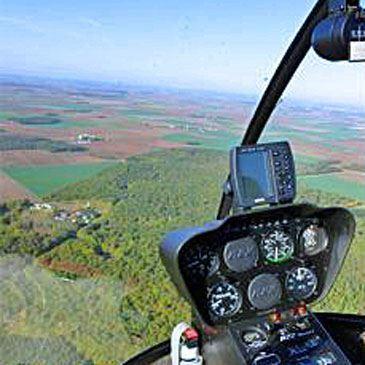 Vol d'initiation au pilotage en hélicoptère Blois