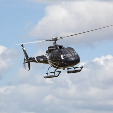 Baptême en Hélicoptère à Rouen