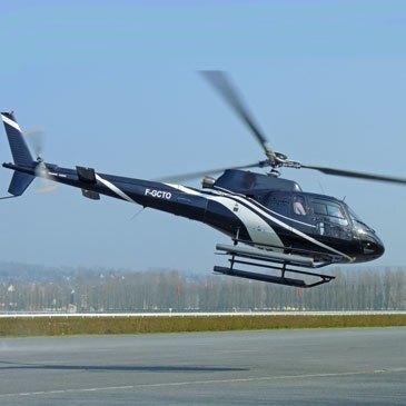 Baptême de l'air hélicoptère, département Seine maritime