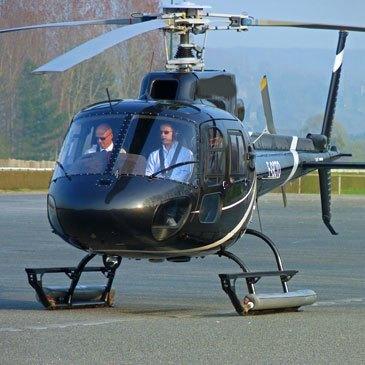 Baptême de l'air hélicoptère proche Aéroport Rouen Vallée de Seine