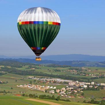 Vol en montgolfière (Canton de Fribourg)
