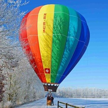 Baptême de l'air montgolfière, département Fribourg