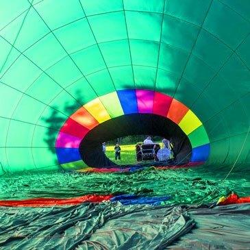 Baptême de l'air montgolfière proche Aérodrome de Fribourg-Ecuvillens