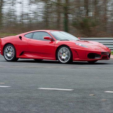 Stage pilotage Ferrari 430 F1 - Circuit de Clastres
