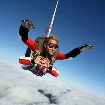 saut en parachute nombre de g