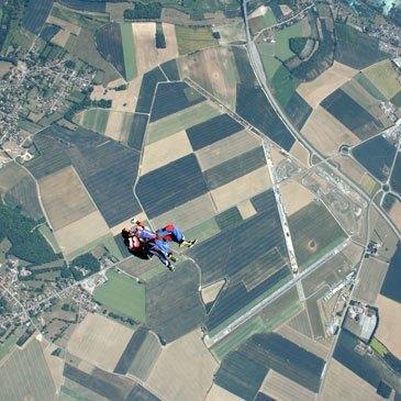 Saut en parachute, département Meurthe et moselle