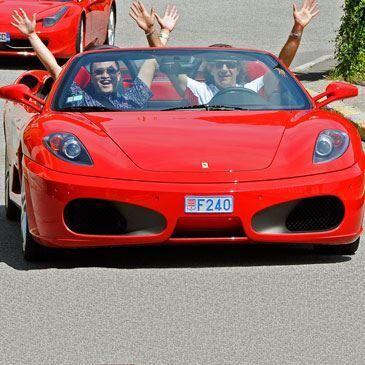 Stage sur Route en Ferrari F430 Spider à Monaco