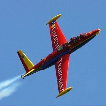 Vol en avion de chasse Fouga Magister à Paris