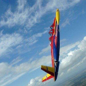 Vol avion de chasse en région Ile-de-France