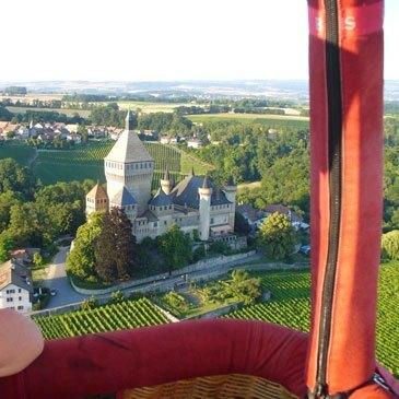 Lausanne, Vaud (VD) - Baptême de l'air montgolfière