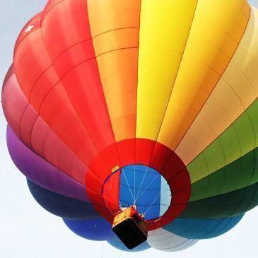 Vol en montgolfière (Canton de Bern)
