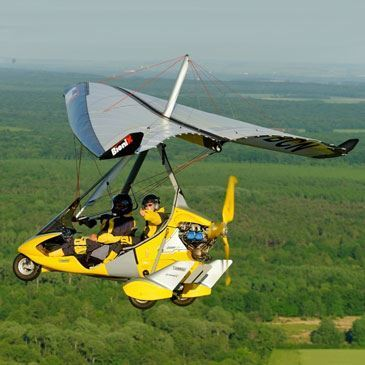 Pilotage d'ULM Pendulaire proche Melun et Paris