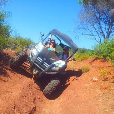 Randonnée en buggy SSV (Massif des Maures)
