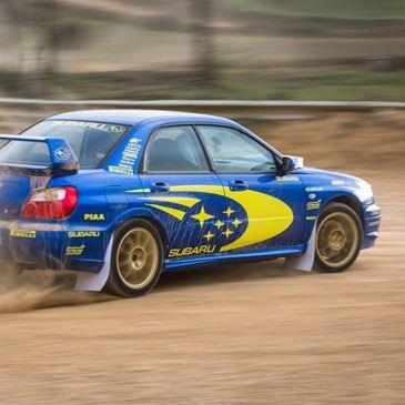 Baptême de Drift en Subaru - Circuit Terre de Poitiers