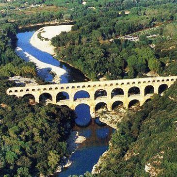 Baptême en ULM Autogire - Survol du Pont du Gard