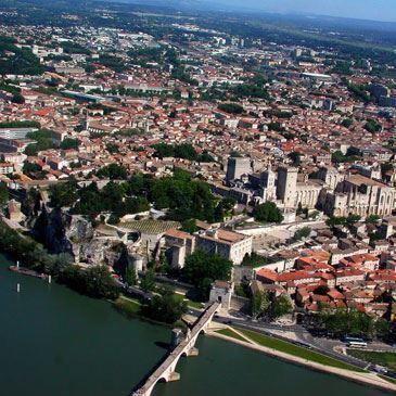 Baptême de l'air en autogire (Avignon)
