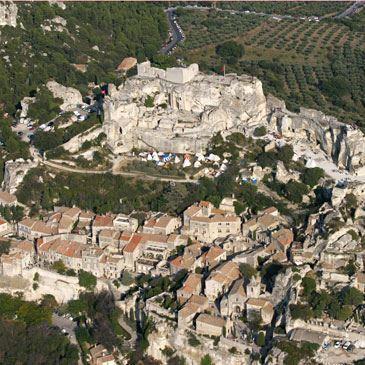 Baptême de l'air en autogire (Les Baux de Provence)