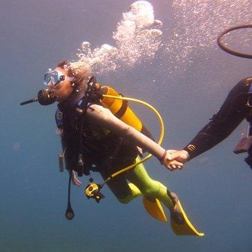 Antibes, Alpes Maritimes (06) - Baptême de plongée