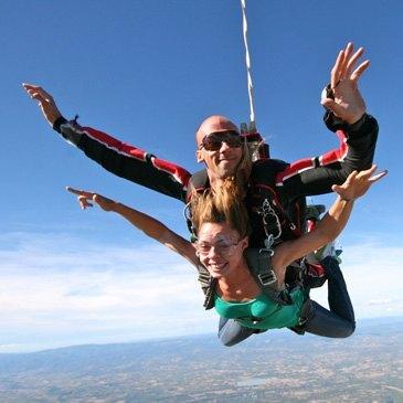 saut en parachute en ardeche