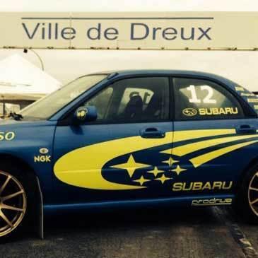 Stage de Pilotage Rallye proche Dreux - Circuit Terre de Dreux