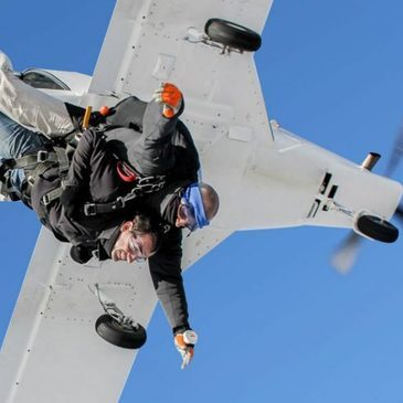 Saut en parachute, département Nièvre