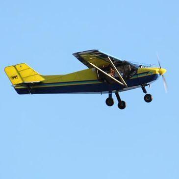 Pilotage d'ULM Multiaxe à La Ferté Alais