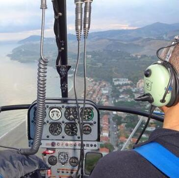 Pilotage Hélicoptère, département Pyrénées orientales