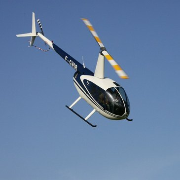 Baptême de l'air hélicoptère, département Rhône