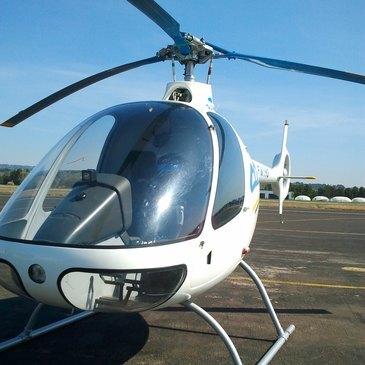 Vol Initiation Pilotage Hélicoptère Aix-en-Provence
