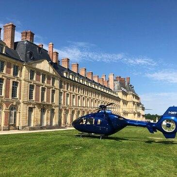 Baptême Hélicoptère, département Paris