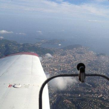 Baptême de l'air avion, département Alpes Maritimes