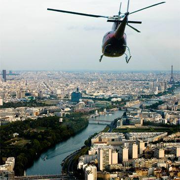 Vol en Hélicoptère au Sud de Paris et Château de Versailles