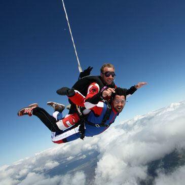 Saut parachute en tandem (à proximité de Metz)