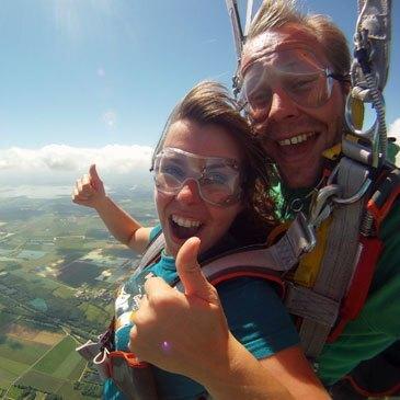 Saut en parachute, département Moselle