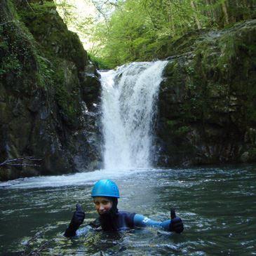 Canyon de Bious Gabas - demi-journée (descente sportive)