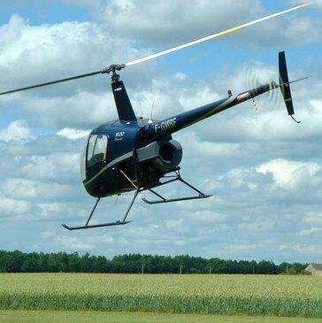 Initiation pilotage en hélicoptère / Baptême de l'air en hélicoptère (Yvelines)