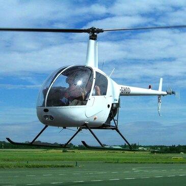 Stage initiation hélicoptère, département Yvelines