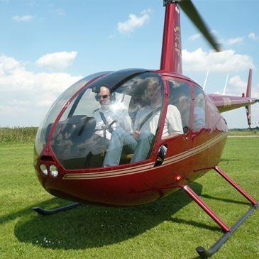 Baptême en Hélicoptère en Belgique près de Lille