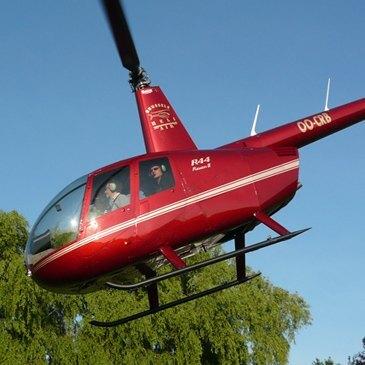 Baptême de l'air hélicoptère en région Nord-Pas-de-Calais