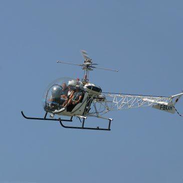 Baptême Hélicoptère, département Hérault