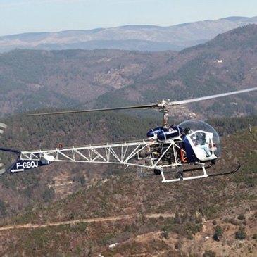 Baptême Hélicoptère en région Languedoc-Roussillon