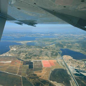 Baptême de l'air en avion près de Narbonne
