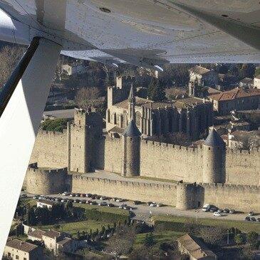 Aérodrome de Lézignan-Corbières, Aude (11) - Baptême de l'air avion