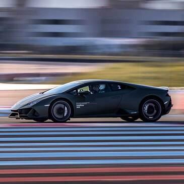 Stage de pilotage Lamborghini en région Bourgogne